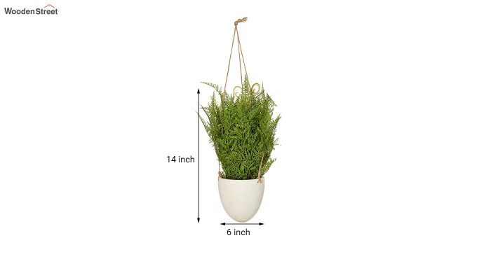 Artificial Hanging Boston Fern Plant-3