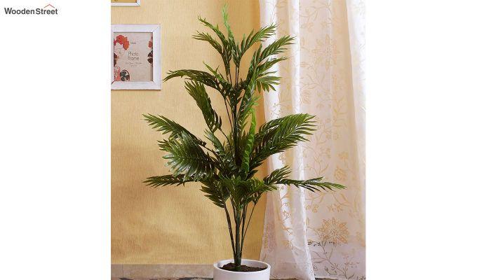Green Polyester Areca Artificial Plant-1