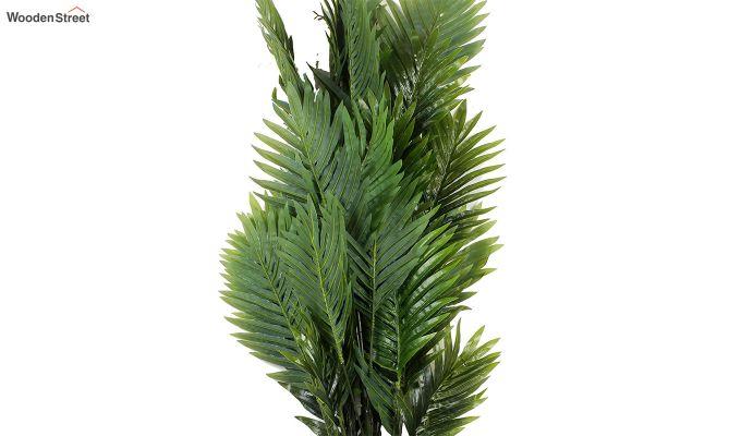 Green Polyester Areca Artificial Plant-3