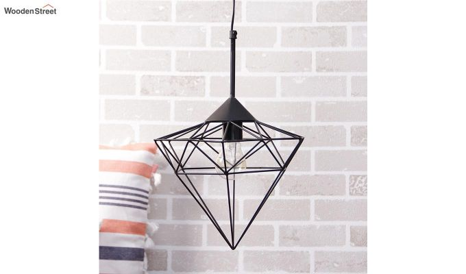 Black Jewel Hanging Light by Grated Ginger-1