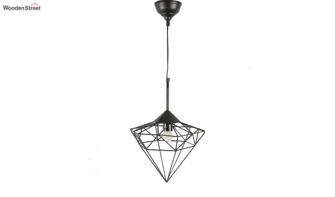 Black Jewel Hanging Light by Grated Ginger-4