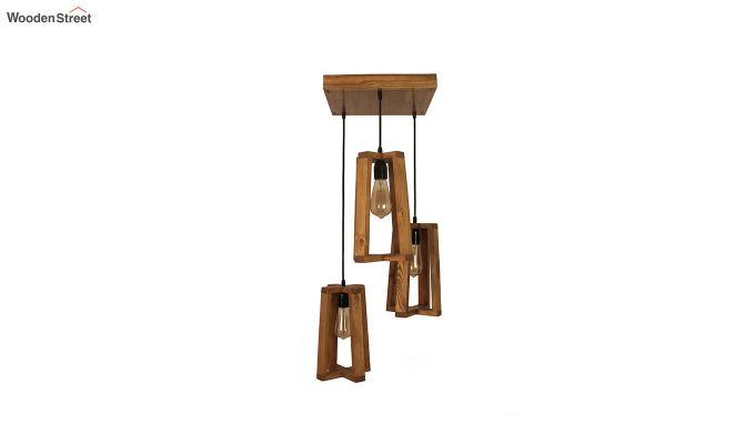 Blender Brown Cluster Hanging Lamp-3