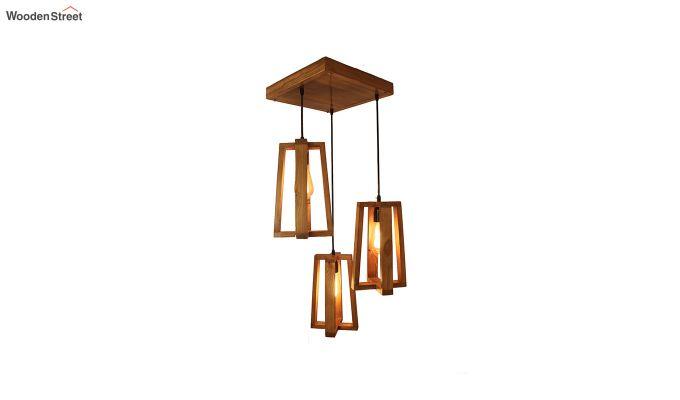 Blender Brown Cluster Hanging Lamp-4
