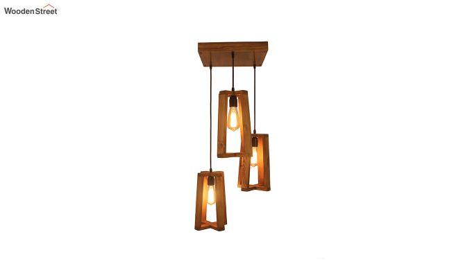 Blender Brown Cluster Hanging Lamp-5