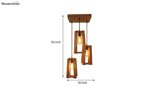 Blender Brown Cluster Hanging Lamp-6