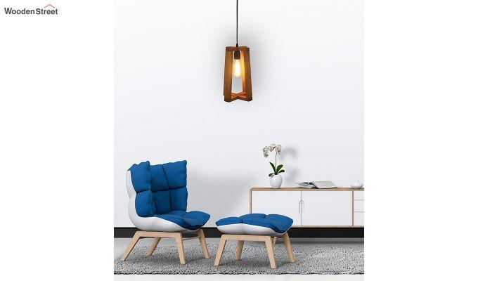 Blender Brown Wooden Hanging Lamp-3