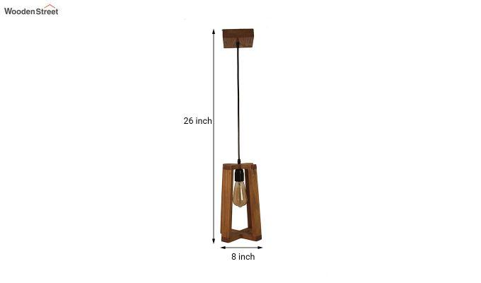 Blender Brown Wooden Hanging Lamp-6