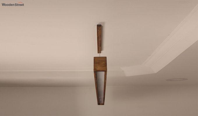 Clara Brown Wooden LED Hanging Lamp-6