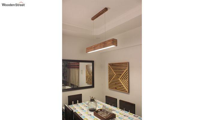 Clara Brown Wooden LED Hanging Lamp-3