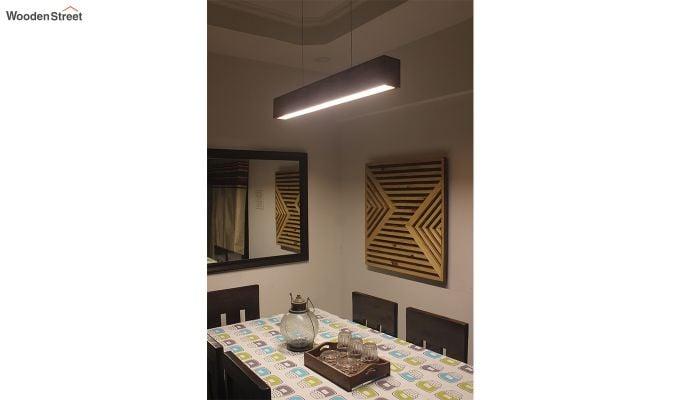 Clara Brown Wooden LED Hanging Lamp-4