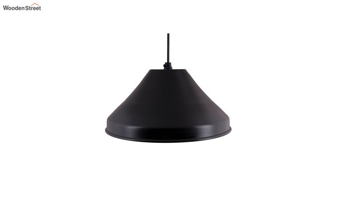 Classic Inverted Cone Black Hanging Light-3
