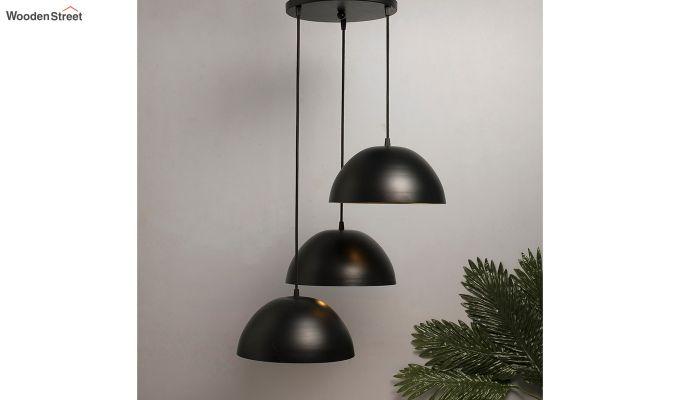 Cluster Black Hanging Light-1