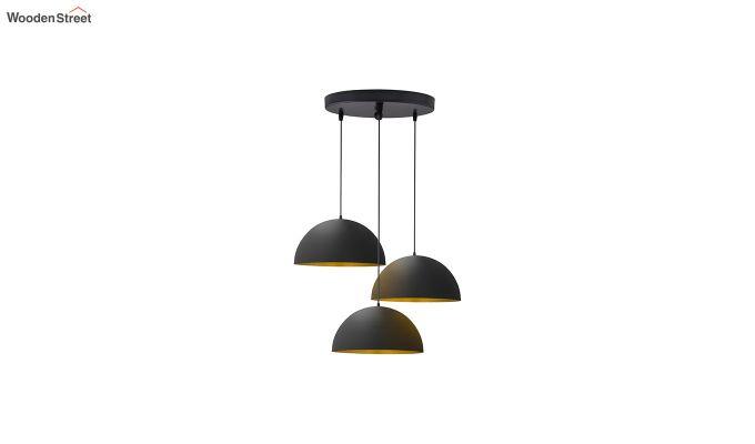 Cluster Black Hanging Light-2