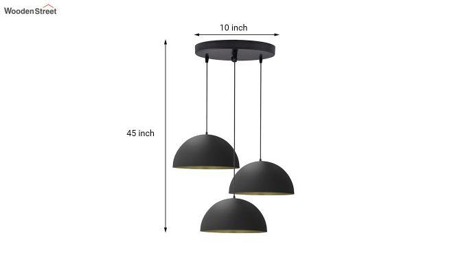 Cluster Black Hanging Light-5