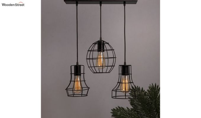 Cluster Cages Pendant Hanging Light-1