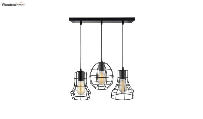 Cluster Cages Pendant Hanging Light-2