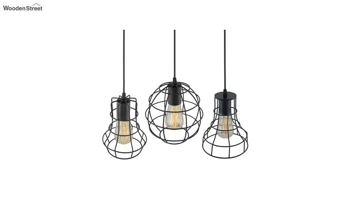Cluster Cages Pendant Hanging Light-4