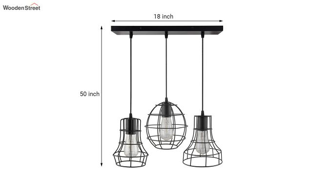 Cluster Cages Pendant Hanging Light-5