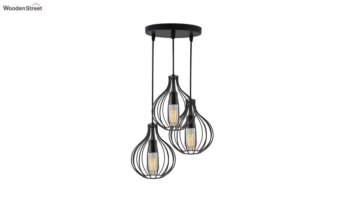 Cluster Crown Pendant Hanging Light-2