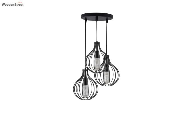 Cluster Crown Pendant Hanging Light-3
