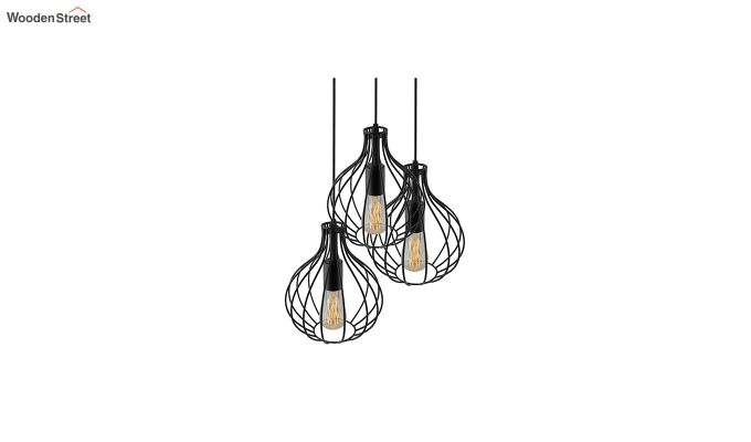 Cluster Crown Pendant Hanging Light-4