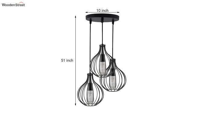 Cluster Crown Pendant Hanging Light-5