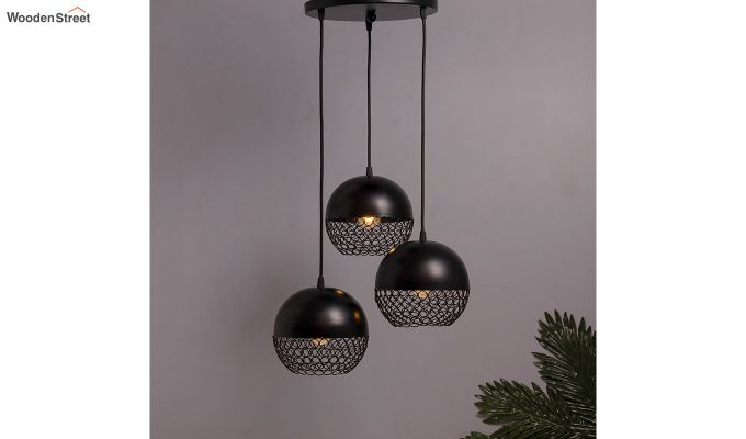Cluster Globe Pendant Hanging Light-1