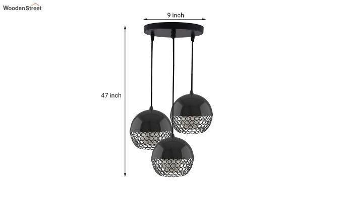 Cluster Globe Pendant Hanging Light-5
