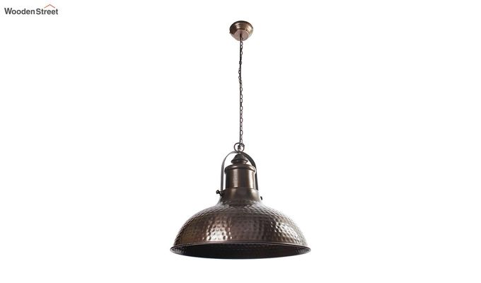 Copper Bell Hanging Light by Grated Ginger-2