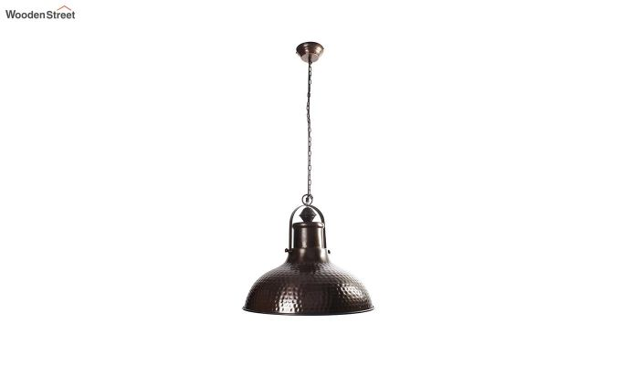 Copper Bell Hanging Light by Grated Ginger-3