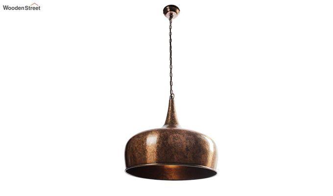 Copper Goblet Hanging Light by Grated Ginger-3