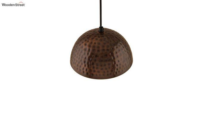 Copper Hammered 8-inch Hanging Light-4
