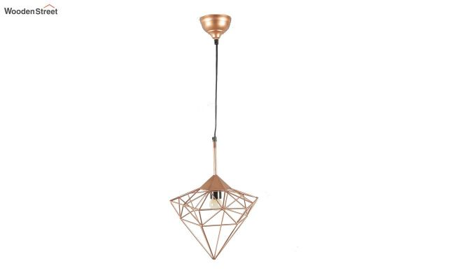 Copper Jewel Hanging Light by Grated Ginger-4