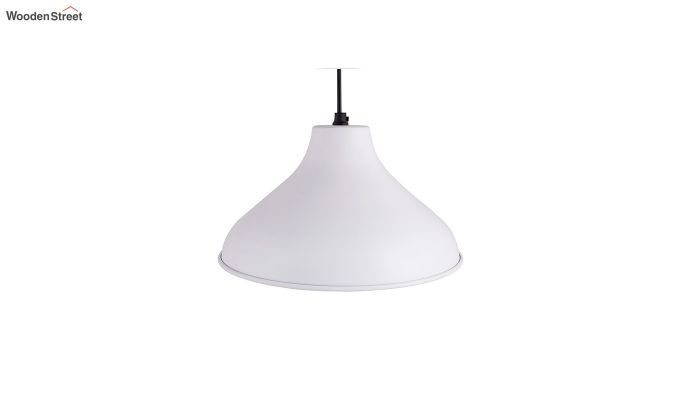 Cubist Crown White Hanging Light-3