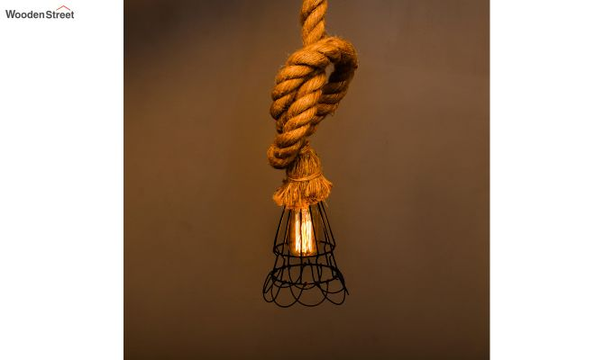 Dublin Rope Set of 5 Hanging Light-2