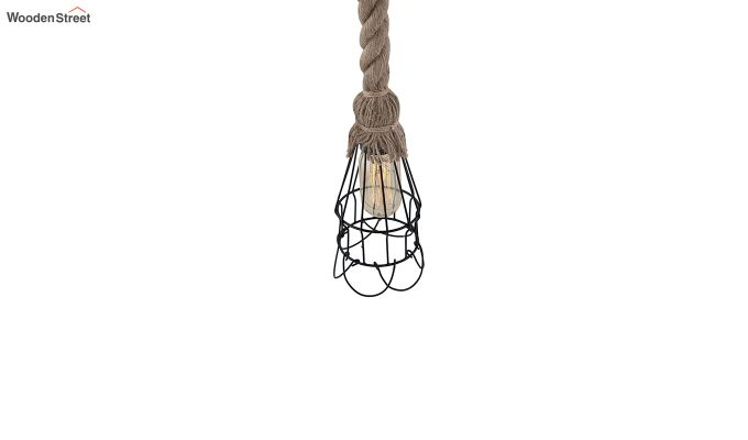 Dublin Rope Set of 5 Hanging Light-5