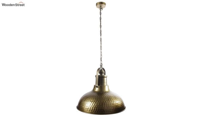 Gold Bell Hanging Light by Grated Ginger-3