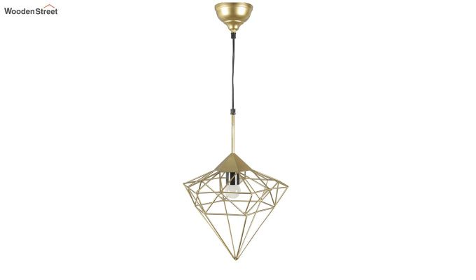 Gold Jewel Hanging Light by Grated Ginger-5