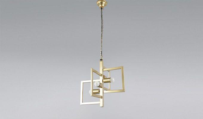 Gold Vane Hanging Light by Grated Ginger-1