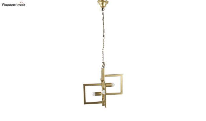 Gold Vane Hanging Light by Grated Ginger-4