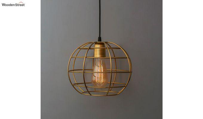 Golden Classic Sphere Filament Hanging Light-1