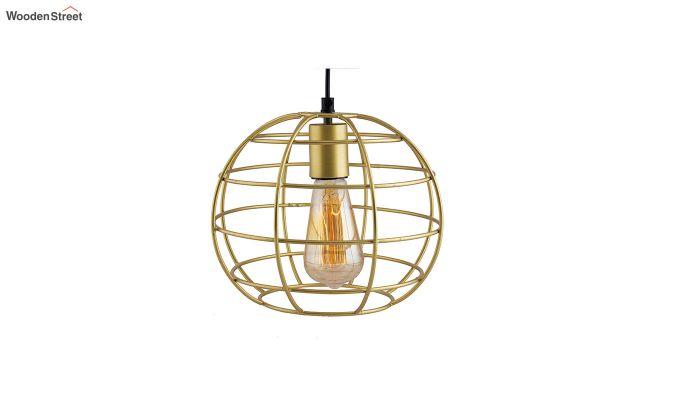 Golden Classic Sphere Filament Hanging Light-2