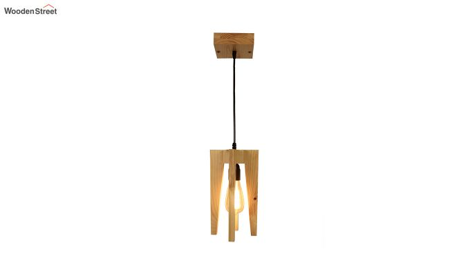 Jet Beige Wooden Hanging Lamp-6