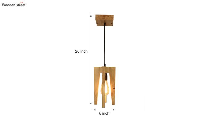 Jet Beige Wooden Hanging Lamp-7