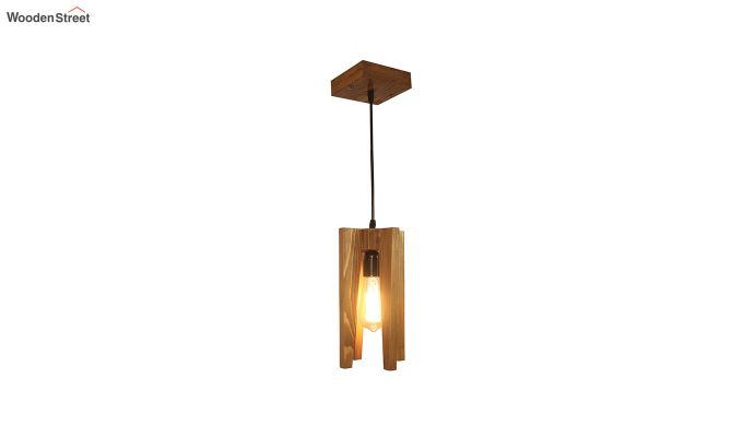 Jet Brown Wooden Hanging Lamp-6