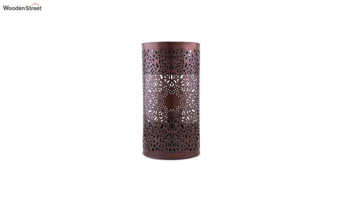 Moroccan Filgree Copper Wall Lamp-2