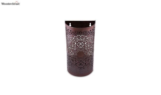 Moroccan Filgree Copper Wall Lamp-3