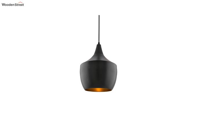 Nordic Modern Black Metal Hanging Light-2