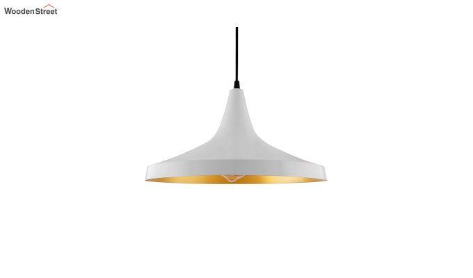 Nordic Modern White Danish Shape Hanging Light-2