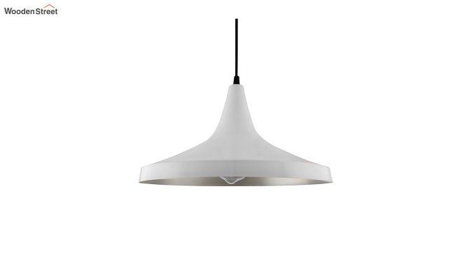 Nordic Modern White Danish Shape Hanging Light-3